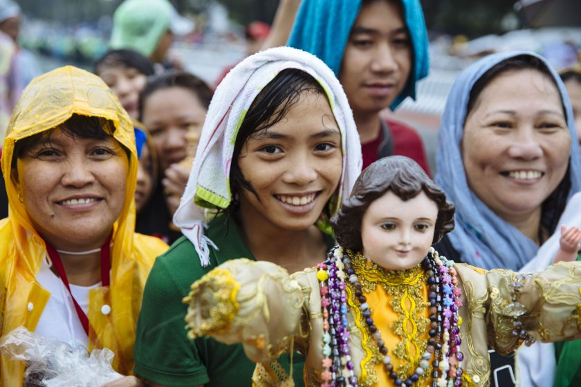 Rekordmesse mit Papst Franziskus im Rizal Park