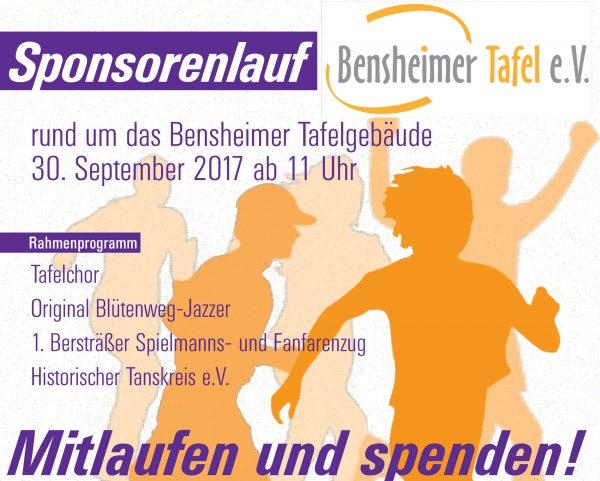 Sponsorenlauf rund um das Bensheimer Tafelgebäude