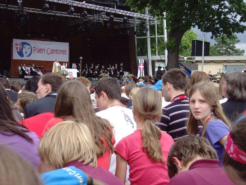 35. Pueri-Cantores-Festival Abschlussgottesdienst