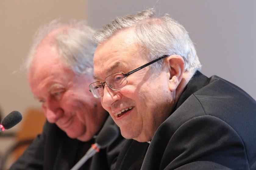 Kardinal Karl Lehmann, Generalvikar Dietmar Giebelmann (links)