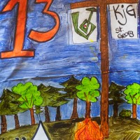 Fenster 13: KJG Sankt Georg