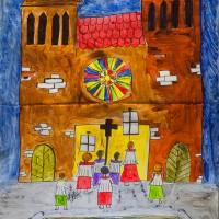 Fenster 17: Ministranten Sankt Georg
