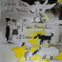 Fenster 24: Künstlerin Frau Stüber