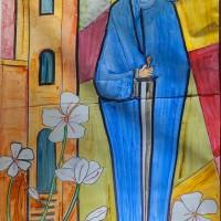 Viertes Fenster: Katholische Gemeinde St. Laurentius & Dienstagsmaler