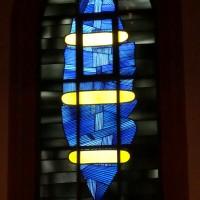 Liturgie und Raum - Glasfenster von Georg Meistermann