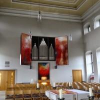 Liturgie und Raum - Beidseitig bemalte Flügel für die Orgel
