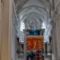 """Liturgie und Raum - Hochaltarbild """"Neues Jerusalem"""""""
