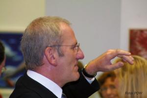 Domkapitular Dr. Jürgen Lenssen, der Leiter des Kunstreferates der Diözese Würzburg, Theologe und Maler. (Foto: Pressestelle Ordinariat Würzburg)