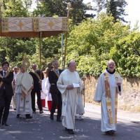 Fronleichnam 2015 - Prozession