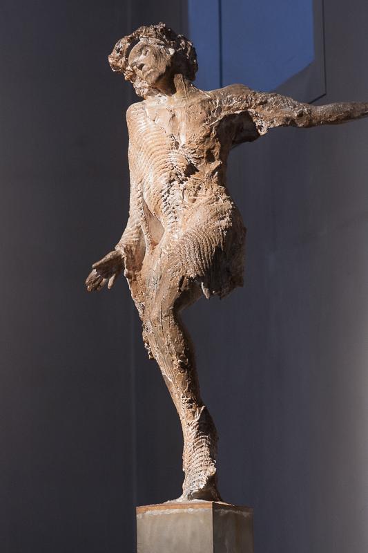 Christus-Stele von Karlheinz Oswald