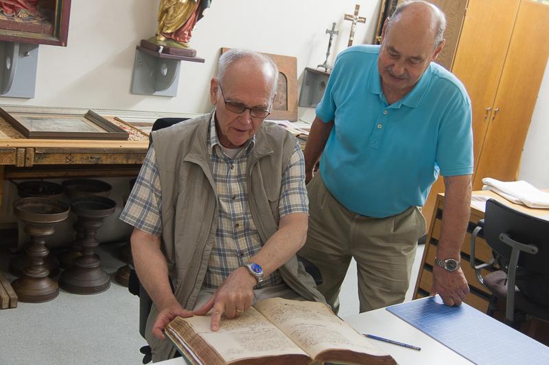 Dr. Norbert Hartmann und Rudolf Schmidt