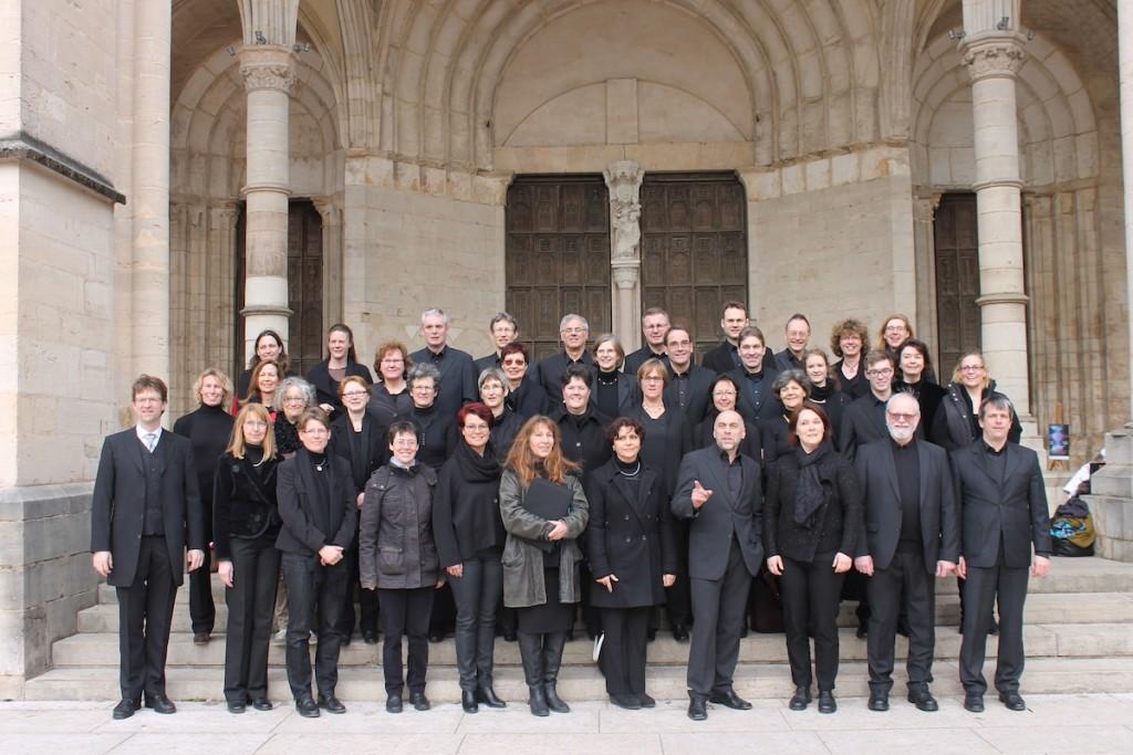 Kammerchor zu Gast in Beaune