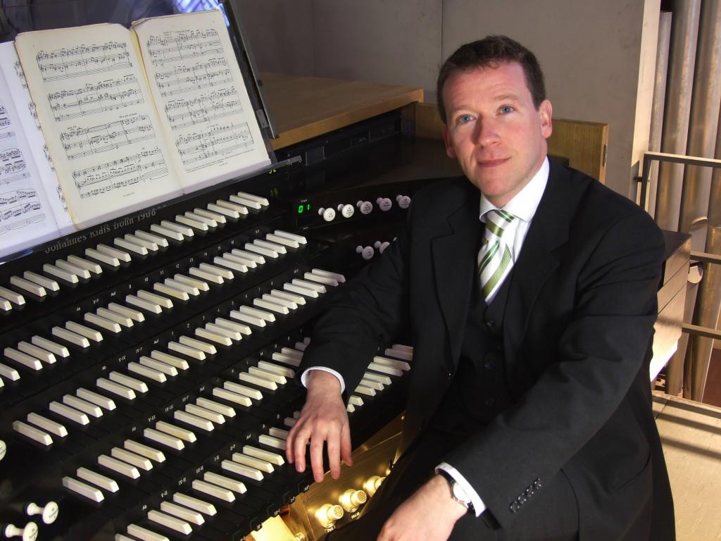 Organist Stefan Schmidt