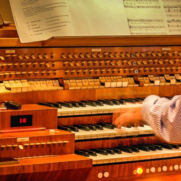 11. Orgelkonzert der Bach-Gesamtaufführung