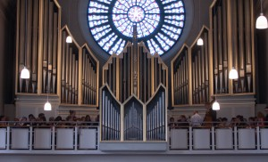 Orgel in Sankt Georg