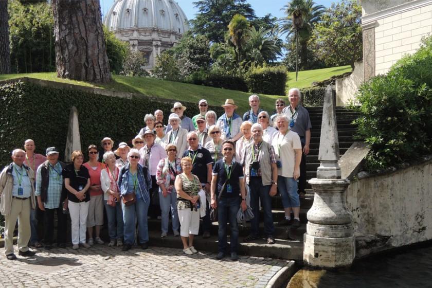 Pilger und Studienreise in die ewige Stadt