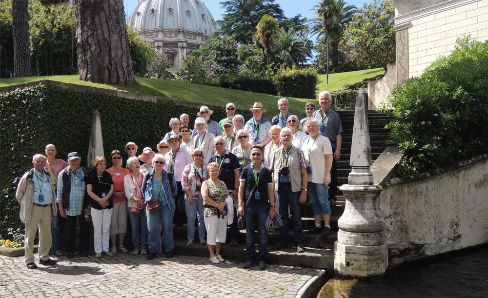 Pilger und Studienreise Rom