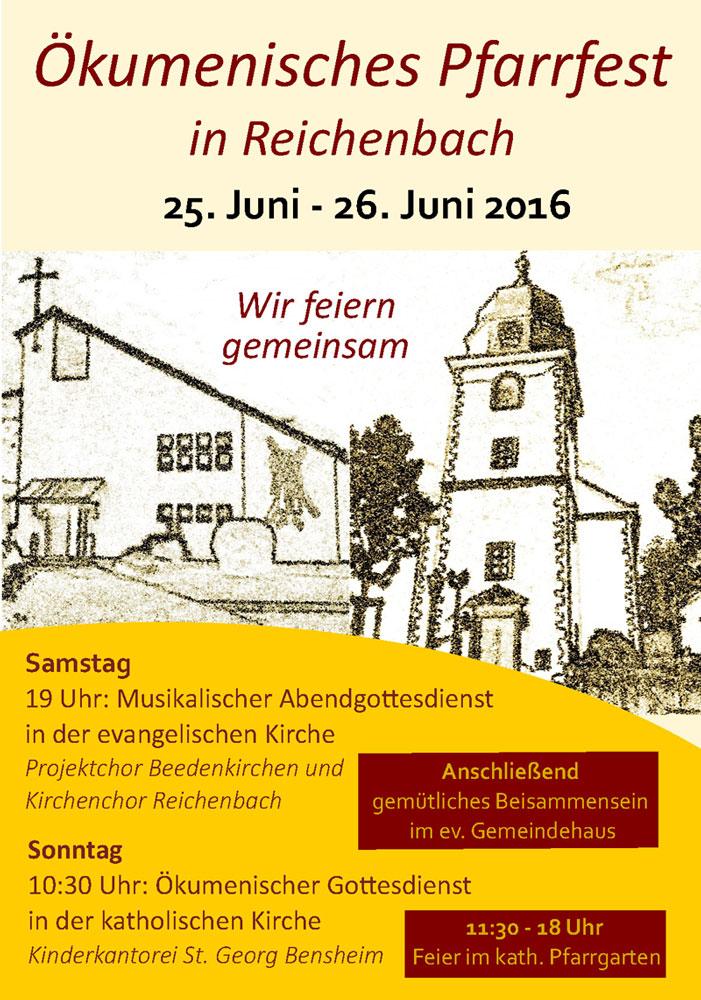 Pfarrfest in Reichenbach 2016