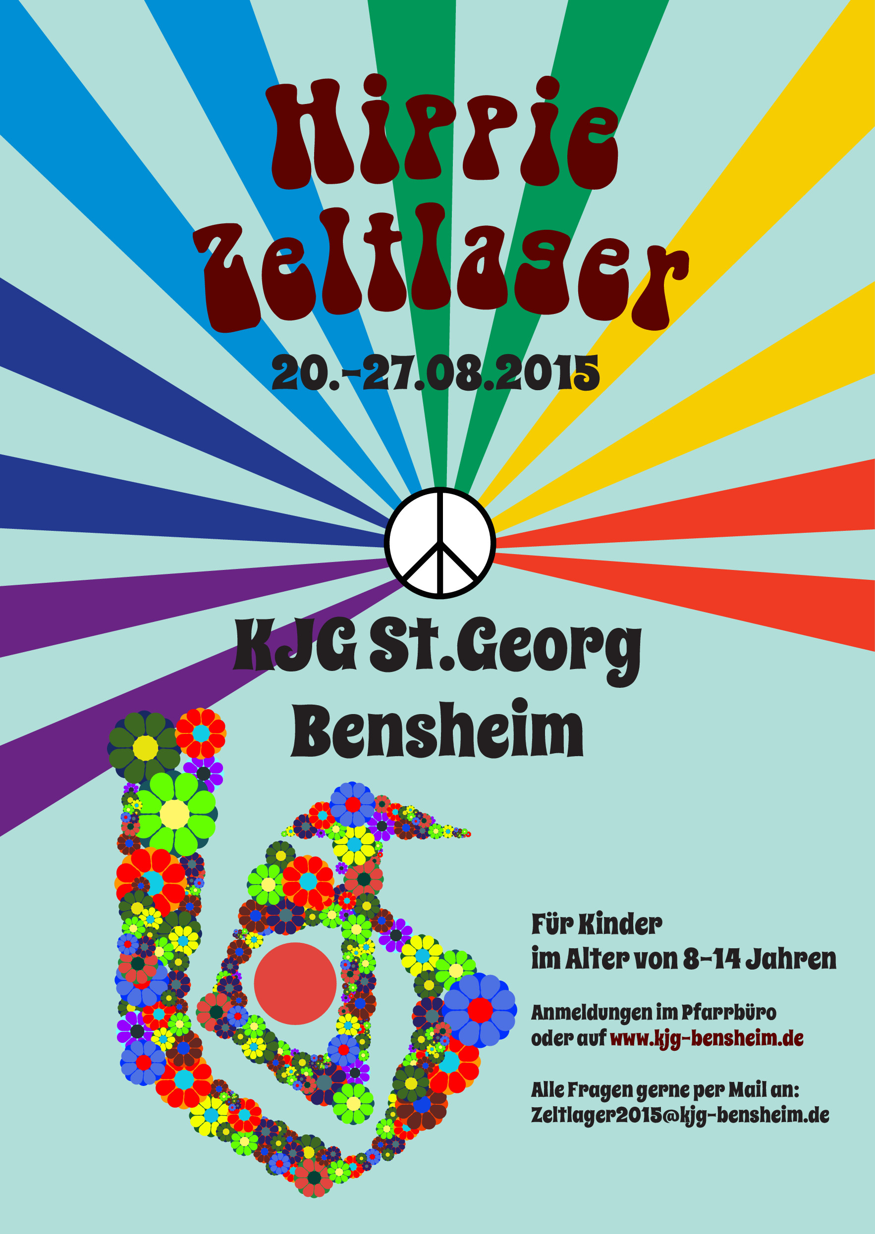 KJG-Zeltlager 2015 Hippie Zeltlager