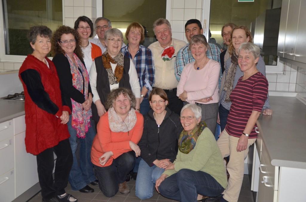 Das Weltladen-Team, die Fair Trader von Sankt Georg.