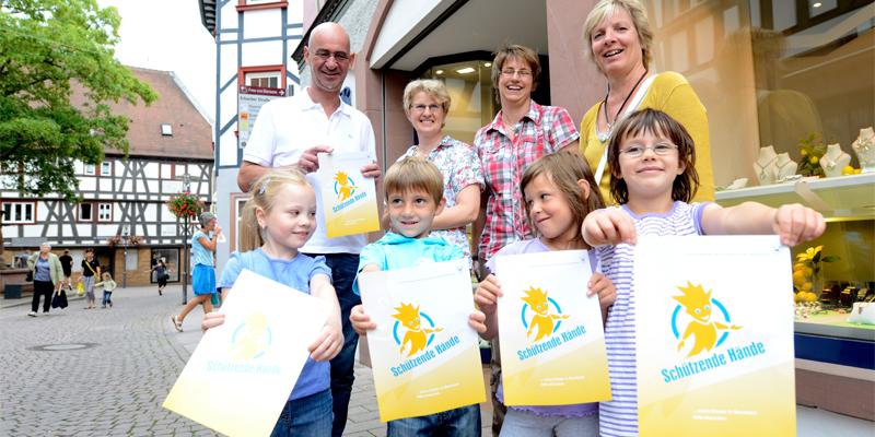 Schützende Hände - wenn Kinder in Bensheim Hilfe brauchen