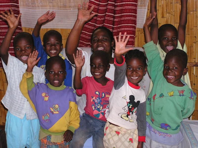 Spenden in Zimbabwe angekommen