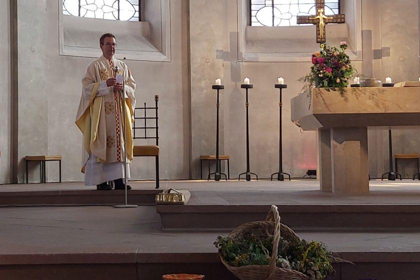 Erste Gottesdienste mit Pfr. Christian Stamm