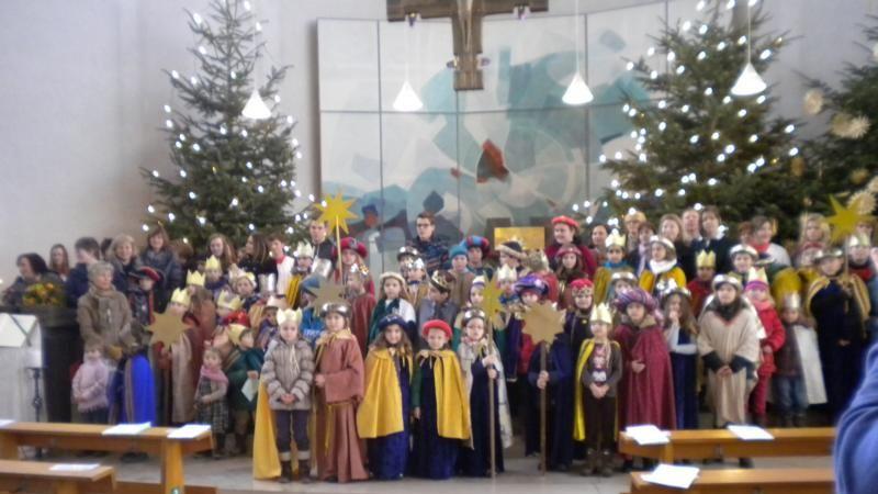Sternsinger-Aktion: Abschlussgottesdienst des Pfarreienverbundes in St. Laurentius