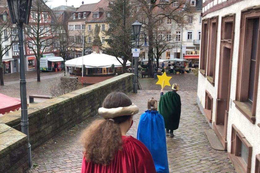 Sternsinger-Sternsingeraktion im Pfarreienverbund Bensheim
