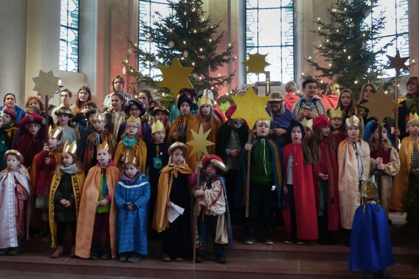 Sternsinger in Sankt Georg 2016
