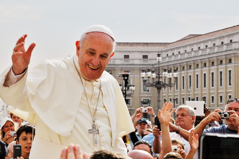 Papst Franziskus: Generalaudienz in Rom September 2015